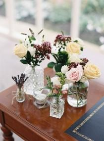 wedding photo - Pretty Floral Wonderland DIY Wedding