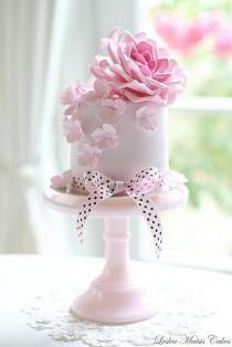 wedding photo - Pink Rose And Hydrangea