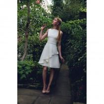 wedding photo - Tobi Hannah Castle Short Wedding Dress -  Designer Wedding Dresses