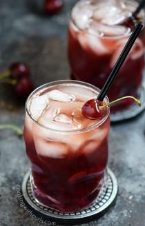 wedding photo - Cherry Whiskey Smash