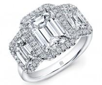 wedding photo - Stone Emerald Cut Ring