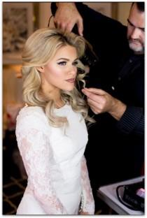wedding photo - 'Dancing With The Stars' Witney Carson's Wedding Hair Get The Look