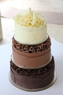 wedding photo - Unique Weding Cake