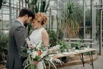 wedding photo - A Botanical Themed Wedding Shoot By Rock The Frock Bridal