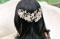 wedding photo - 20 Gorgeous Bridal Headpieces for Sophisticated Brides