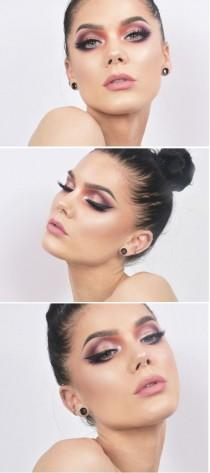 wedding photo - Pink Smokey Eye