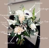 wedding photo - Vintage Garden Bouquet Breakdown