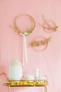 wedding photo - DIY Paper Eucalyptus