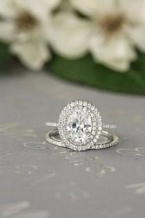 wedding photo - 30 Engagement Ring Halos That Will Make You Say OMG