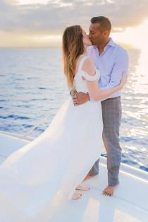 wedding photo - Romantic Underwater Shoot in Maui - Polka Dot Bride
