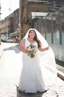 wedding photo - Your Size Has Nothing to do with How Happy You'll be on Your Wedding Day