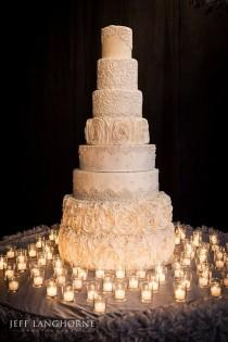 wedding photo - Gorgeous Wedding Cake