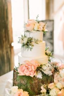 wedding photo - Three Layer Cake