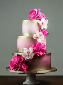 wedding photo - Wedding Cake Inspiration - I Do! Wedding Cakes