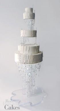 wedding photo - Modern Wedding Cake