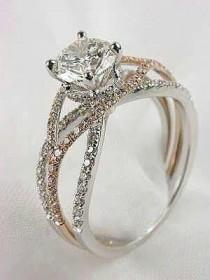 wedding photo - 20 Stunning Wedding Engagement Rings That Will Blow You Away