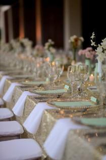 wedding photo - Fancy Wedding Table