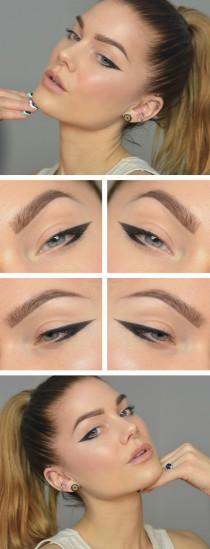 wedding photo - Black Eyeliner