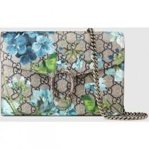 wedding photo - Gucci Dionysus Blooms Print Mini Chain Bag