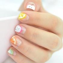 wedding photo - Fruit Nail Art