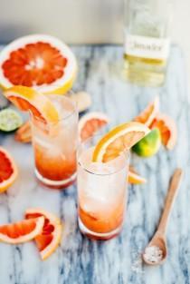 wedding photo - Pomelo Chili Paloma Cocktails