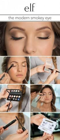wedding photo - The Modern Smokey Eye