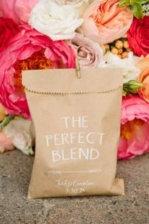 wedding photo - Coffee Favors