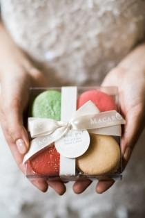 wedding photo - Macaron Favors