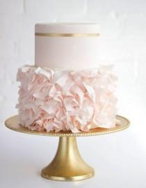 wedding photo - Pink Wedding Cake