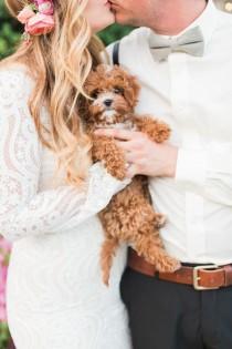 wedding photo - DIY Bohemian Palm Springs Wedding: Matt   Aimee (100 Layer Cake)