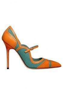 wedding photo - OOOK - Manolo Blahnik - Shoes 2012 Spring-Summer - LOOK 55