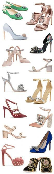 wedding photo - Add A Little Sparkle - 14 Embellished Wedding Guest Shoes