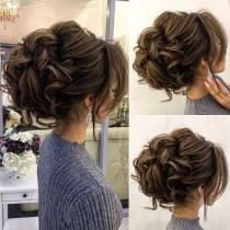 wedding photo - Drop-dead Gorgeous Loose Messy Updo Wedding Hairstyle For You To Get Inspired