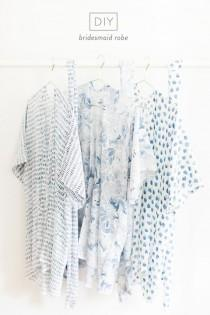 wedding photo - DIY Bridesmaid Robes: 9 Easy Steps To Seriously Happy Besties