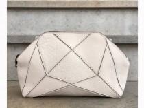 wedding photo - Hipster Bag, Cross Body Bag, Handmade Bag, Purple And Gray Print, Purse