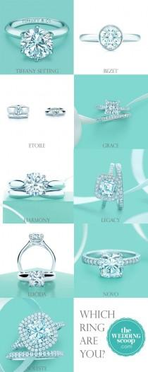 wedding photo - 8 Favourite Tiffany Engagement Rings