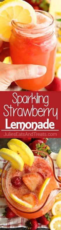 wedding photo - Sparkling Strawberry Lemonade