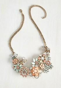 wedding photo - Vow To Wow Necklace In Blush