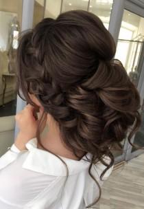wedding photo - Curly Updo Wedding Hairstyle
