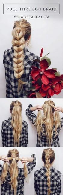 wedding photo - Super Easy DIY Braided Hairstyles For Wedding Tutorials