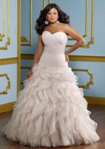 wedding photo - Plus Size Wedding Dresses From Julietta By Mori Lee