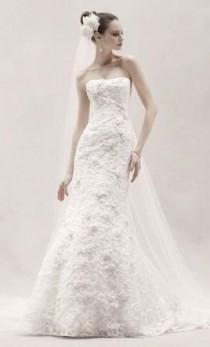 wedding photo - Oleg Cassini CWG464, $500 Size: 14