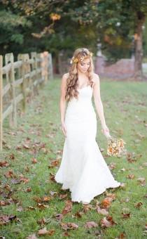 wedding photo - Rustic Sunrise Winery Bridal Session