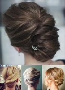 wedding photo - 60 Trendiest Updos For Medium Length Hair