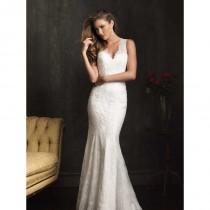 wedding photo - Allure Bridals 9062 Key Hole Back Wedding Dress - Crazy Sale Bridal Dresses