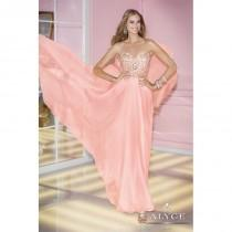 wedding photo - Alyce Paris A Line Chiffon Prom Dress 6227 - Crazy Sale Bridal Dresses