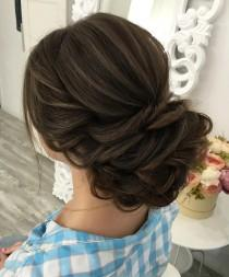 wedding photo - Beautiful Chignon Hairstyle To Inspire Your Big Day'do