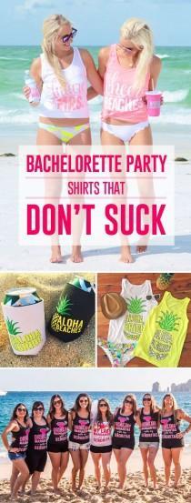 wedding photo - Bachelorette Party Shirts (That Don't Suck!)