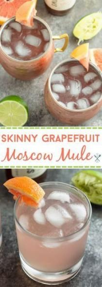 wedding photo - Skinny Grapefruit Moscow Mules