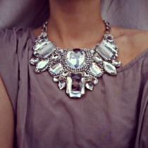 wedding photo - Rocking The Bib Necklace : A Definitive How-to Guide For Everyday